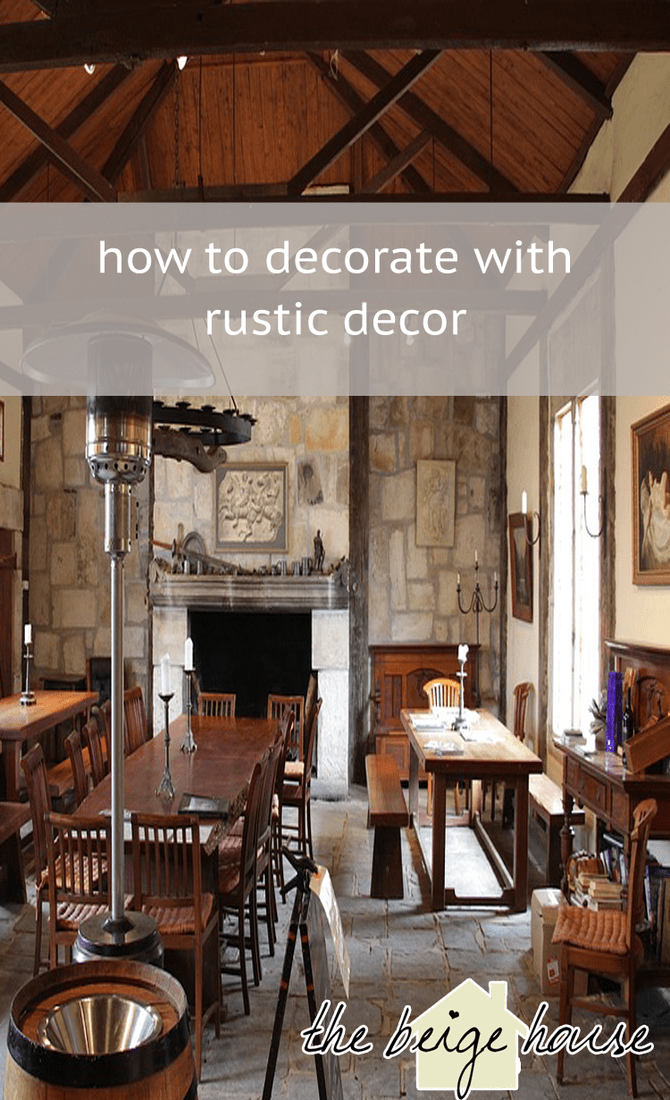 What is Rustic Decor?