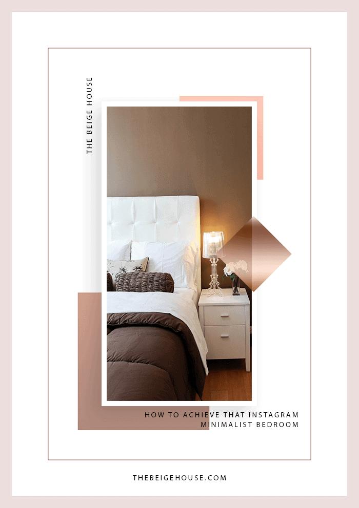 How To Achieve That Instagram Minimalist Bedroom