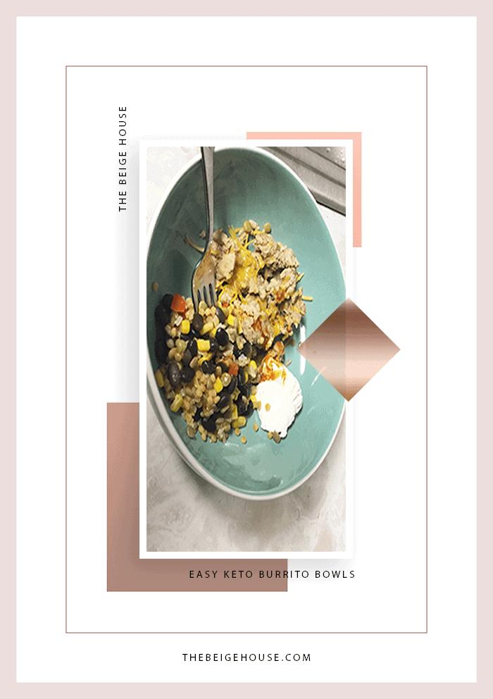 Easy Keto Burrito Bowls