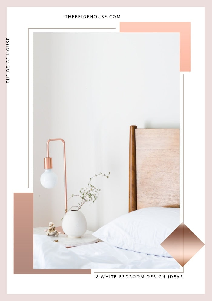 8 White Bedroom Design Ideas