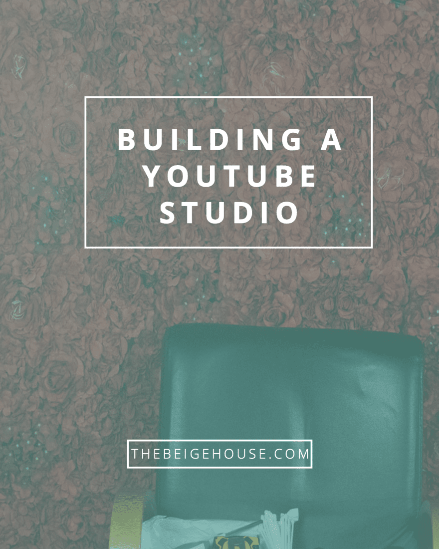 Building the Youtube Studio for Video Tutorials